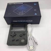 Klasik Tasarım Retro El Oyun Konsolu 8 bit 32 ile Taşınabilir Video Oynatıcı GBA Oyunları Emulator Oyuncular için