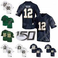Мужчины NCAA Notre Dame Борьба с ирландским футбольным колледжем 87 Майкл Майер Джерси 24 Threeble 14 Kyle Hamilton Jeremiah Owusu-Koramoah Tabiq Brany