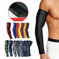 Elbow & Knee Pads Dayselect 1Pcs Professional Sports Elastic Arm Guard Basketball Volleyball Sleeves Armband Sport Warmers