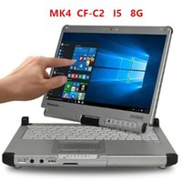 Panas0nic TOUGHBOOK CF-C2 CF C2 4 Core 8GB With SSD Diagnostic Rugged Laptop For Star C3 C4 C5 Icom A2 Next P Tools