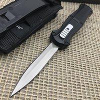 BM 3300 Faca Reta Faca Automática para fora A Ação Dupla Frente Auto D2 Spear Point Plain Tactical Faca EDC Tools Outdoor Survival Cunting Facas