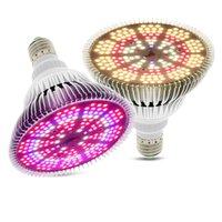 아마존 최신 Par38 Sunlike 전체 스펙트럼 성장 전구 E27 LED 300W 200LEDS 식물 램프 식물 꽃