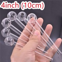 Cheap Price Pryrex glass Oil Burners Pipe Smoking Accessories Glass smoking pipes Drop Shipping Dhl free