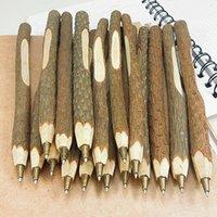 ビンテージ手作り木製環境ボールペン/小枝ボールペン/素敵なギフトスクール事務用品ステータリーペン