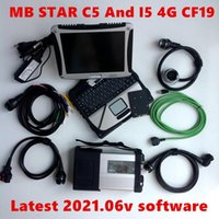 Diagnostic Tools Full Car Tool MB Star C5 Laptop Cf19 Notebook Is Installed With The Latest 2021.06v Software And Works Now