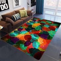 Carpets Light Luxury 3D Thick Carpet For Living Room Rug Children Bed Fluffy Floor Window Bedside Home Decor Rugs Mat