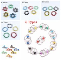 6 8 10 12 Knots Bike Chain Toy Key Ring Fidget Spinner Gyro Hand Metal Finger Keyring Bracelet Toys Reduce Decompression Anxiety Anti Stress For Kids Adult Student