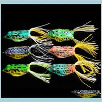 High Quality Soft Lures Fishing Lure Bait Tackle 5.5Cm 12.5G Frog Bait Soft Rubber Frog Bait Fishing Lure Tackle 3R0Yu Km3X1