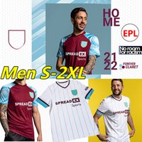 2021 2022 Futbol Formaları Brownhill Dunne Papa Barnes Bordo Lancashire Tarkowski Rodriguez Westwood McNeil Ahşap 21/22 Futbol Gömlek Üniformaları