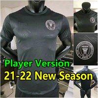 2021 2022 Inter Miami Higuain Football Trikots Beckham Matuidi Fussball Jersey 21 22 Pizarro Pellegrini Carranza Shirt Männer Kinder Set MAILLOT Uniform