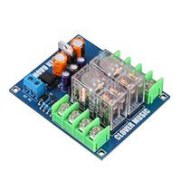 Sound Cards Dual OMRON Relay 7812+UPC1237 Speaker Protection Board Kit For HIFI DIY AC 12-24