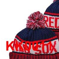 2021 Boston Baseball B Beanie North American Team Side Patch Winter Wool Sport Knit Hat Skull Caps