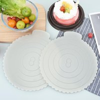 Rolling Pins & Pastry Boards 8in Round Cake Stand Mat Board Plastic Tray Base Reusable Oven Patisserie Baking Tool Dessert Displays Pad
