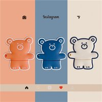 3D Cute Cartoon Bear Anti-fall Headset Protective Cases Soft Siicone For Apple Airpods 1 2 Pro Bluetooth Earphone Cover Case