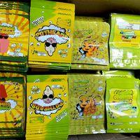 Vacío 250 mg Bolso de caramelo infundido Potheads Delta 8 Gummies Melocotón Anillos Mylar Ecomes Packaging Bolsas