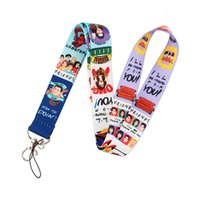 Lanyard K2192 Lanyards Friends Keychain tv for show Key Badges ID Cell Phone Rope Neck Straps Accessories Gift