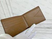 Yüksek Kalite Hakiki Deri Çanta Tutucu Luxurys Designer Cüzdan Çanta Kart Sahipleri Ücretsiz kadın Erkek Para Siyah Kuzu Derisi Mini Tek Anahtar Cep İç Slot