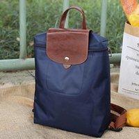 Backpack Women's Travel Nylon Zipper Ladies Multi-function Bags For Women 2021 Portable Solid Mobile Phone Torebka Damska