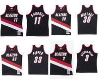 Benutzerdefinierte genähte Basketball-Jersey Männer Frauen Jugend S-6XL 11 Sabonis 30 Wallace 3 Studamire 33 Pippen Mitchell Ness 1999-00 Hardwoods Classics Retro Trikots