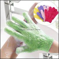 Brushes, Sponges Scrubbers Bathroom Aessories Home & Garden Skin Wash Cloth Shower Scrubber Back Scrub Exfoliating Body Mas Sponge Bath Glov