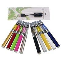 Batteries électroniques EGO-T-CE4 Batteries électroniques en bonne santé E-Cigarette avec CE4 Clearomizer EGO-T Batterie rechargeable 650 900 1100MAH Câble de chargeur USB