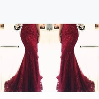 New Elegant Off the Shoulder Beaded Mermaid Prom Dresses Short Sleeves Lace Appliques Floor Length Formal Evening Mother Gown Custom Made