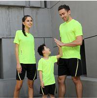 P11-3 Camisa Hombres Mujeres Niños Camisetas de secado rápido Running Slim Fit Tops Tees Deporte Fitness Gimnass T Shirts Muscle Tee