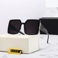 مصمم نظارات شمسية 5422 بولا النساء أزياء نظارات الشمس مربع الصيف نمط كامل الإطار أعلى جودة uv حماية الشمس جلب مع مربع