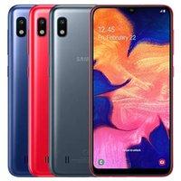 Original Refurbished Samsung Galaxy A10 A105F DS Dual SIM 6.2 inch Octa Core 2GB RAM 32GB ROM 13MP Camera 4G LTE Smart Phone DHL 30pcs