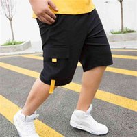 FIT 60-140 KG Vücut erkek Şort Kargo Yeni Yaz Rahat Bigger Cep Klasik 95% Pamuk Marka Erkek Kısa Pantolon Trootores 210323