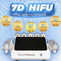 2021 خط العين الفريد الفريد 2 ملليمتر تركز التركيز بالموجات فوق الصوتية معدات الجمال مكافحة التجاعيد الدهون Ultramage 7D HIFU حرق النمو علامات القضاء 2 سنوات الضمان