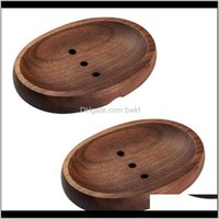 Aessories Bath Home & Gardeneco Friendly Soap Dish - Black Walnut Sope Saver,Oval Shape Holder For Bathroom Shower,Hand Made Craft Tray Dishe
