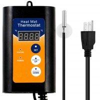 Control inteligente Invernadero Controlador de temperatura de efecto invernadero Sistema de planta Regulador digital Termostato con luz LED