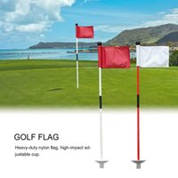 Golf Training Aids Professional Flagstick Backyard Stick Putting Yard Garden Practice Hole Pole Cup Flag