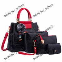 HBP totes tote bag handbags luggage shoulder bags 2021 color red black fashion PU shopping bag leather wholesale women hand tote bags Beach bag MAIDINI-58