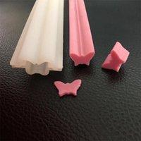 Strumenti artigianali lunghi striscia di farfalla modelli di sapone stampo in silicone per fai da te fatti a mano candela del cioccolato a mano regalo che fa decorazione della torta di pizzo