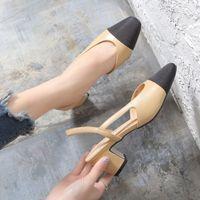 Sapatos de vestido Primavera e Outono Sandálias Gladiador Femininas de Ceo Sapatos Salto Alto com Alças Femininos Casuais Casamento