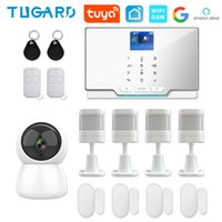 TUGARD 433Mhz Wireless Home WIFI GSM Security Kit with Motion Detector Surveillance Camera Burglar Alarm System