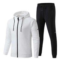 Takım Mektubu Nakış Eğitim Eşofman Erkekler Moda Sportwear Track Takım Elbise Futbol Koşu Uzun Kollu Kazak Gömlek Jogger Pantolon