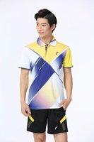Badminton Wear Sets für Männer Athletic Outdoor Apparel Sports Set ST1320-M