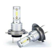 Degree Beam Angle H7 LED Headlight Bulbs Conversion Kit Hi Lo 55W 1000LM 6000K Super Bright Carro Voiture Car Headlights