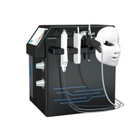 4 in 1 Sauerstoffinfusion Hydra Dermabrasion Aqua Peeling Spa Schönheit der Hautverjüngung Gesichtsreinigungssalon Verwendung