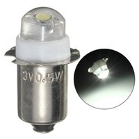 Bike Lights Super Bright Camping Bicycle Bulb LED DC 6V P13.5s Spare White Light Easy To Install