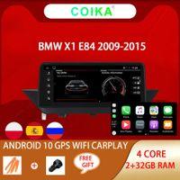 "Auto-DVD-Player 10.25 ""Android 10 System Touchscreen Radio für BMW X1 E84 2009-2015 CIC mit 2 + 32G RAM WiFi GPS Navi Multimedia Carplay"