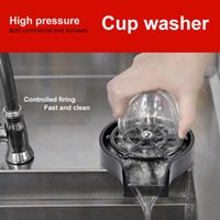 Kitchen Faucets Faucet Glass Rinser For Sink Automatic Cup Washer Bar Coffee Pitcher Wash Tool Accessories