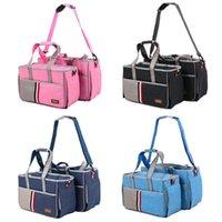 Hund Autositzbezüge oxford doek katze tasche träger reise notwendigkeiten tragbare handtasche schulter tier