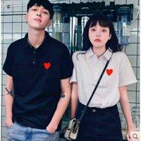 Nueva camiseta de polos para hombre para mujer Tops de alta calidad de manga corta de manga corta de moda Impresión de la impresión de la ropa de hip-hop de la ropa con la caja de la etiqueta