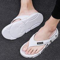 Slippers Mens shoe Summer Outdoor Leisure Non-Slip Flip Flops Korean Style Trendy Unique Fashion Trending Sandals