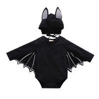 Jumpsuits Baby Clothes For Romper Autumn Winter Boy Girl Bat Long Sleeve Kids Born Jumpsuit Infant Halloween Costume