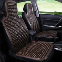 Car Seat Covers Universal Summer Cool Cushion PVC Beaded Massage Automobile Chair Cover With Soft Waist Mat Breathable Durable 1Pcs